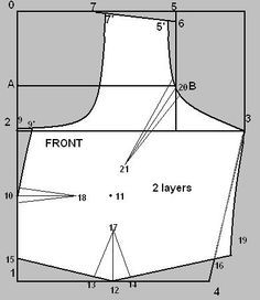 Blouse Drawing And Cutting 42