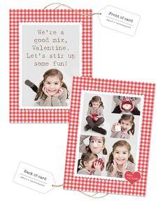 Cute Hot Chocolate Valentine Idea