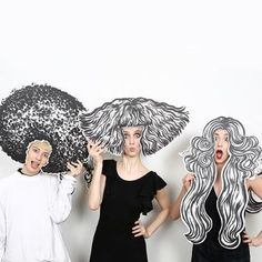 HAIRSTORY STUDIO Avenue New York Ein künstlerisches Engagement immer auffällig nie erfunden angeheftet von Ton van der Veer 5th Avenue New York, Photo Booth Props, Photo Booths, Salon Design, Party Photos, Art Club, Art Education, Art Lessons, Art For Kids