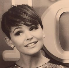 This actress pulls off this look, but I think it helps when you have a flawless face! Love it <3