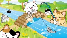 MARUNEKO FISHING WALLPAPER - (#131275) - HD Wallpapers - [wallpapersinhq.pw]