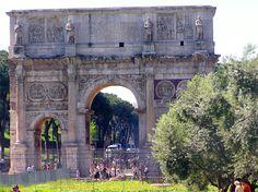 Rome 2005 - Constantine Arch near the Coliseum