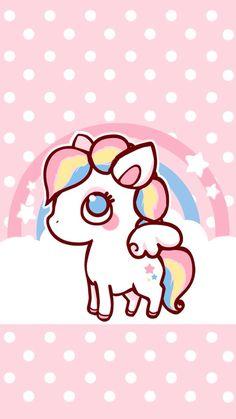 Rainbow Pony lock screen