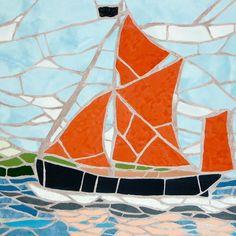 Mosaic boat