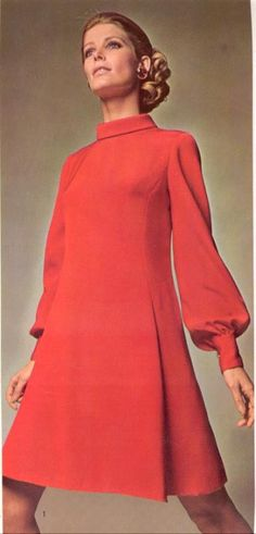 Vintage pattern books 1968-69: bygonefashion