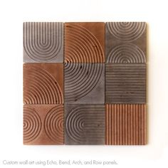 KARVD Echo - Wood Carved Wall Panel - Wooden Wall Home Decor - Wall Paneling - Decorative Wood Panels - Wooden Carved Mounted Headboard Wooden Wall Panels, Decorative Wall Panels, Wood Panel Walls, Wooden Wall Art, Wooden Walls, Wood Paneling, Wood Art, Red Wood Stain, Wall Mounted Headboards
