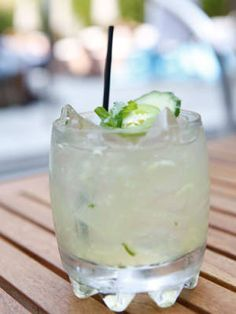 20 Delish Tequila Drinks to Try on Cinco de Mayo - Hot to Trot cucumber jalapeno margarita