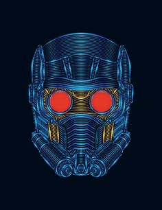 Star-Lord   Guardians of the Galaxy Art Print