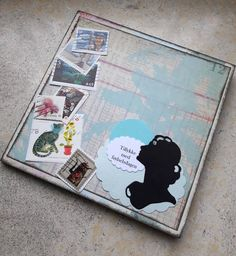 Fasters korthus: A Huge folded card