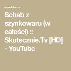 Schab z szynkowaru (w całości) :: Skutecznie.Tv [HD] - YouTube