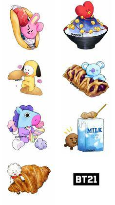 27 Ideas cookies bts for 2019 Bts Chibi, Bts Lockscreen, Bts Citations, Big Bang, Fanarts Anime, Bts Drawings, Line Friends, Bts Fans, Kpop Fanart