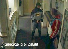 Holy Smokes! \'Batman\' Arrests a Burglar