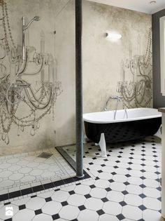 Tapeta Wall&deco - zdjęcie od Esencja Concept Store - Łazienka - Esencja Concept Store