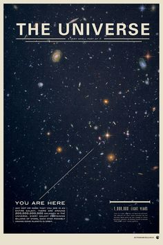 The Universe - Space Poster Design Inspiration // Print | Flickr - Photo Sharing!