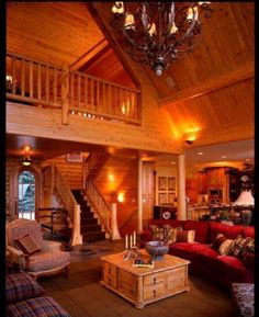 Rustic Chic Mountain Cabin