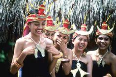 Local girls in Pu'u Naga village on Sumba Island, Indonesia