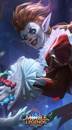 ads ads Karrie Jester Skin Mobile Legends HD Mobile, Smartphone and PC, Desktop, Laptop wallpaper resolutions. of legends… Cool Nike Wallpapers, Mobiles, Moba Legends, Alucard Mobile Legends, Foto 3d, Mobile Legend Wallpaper, Hero Wallpaper, Legend Images, Cool Nikes