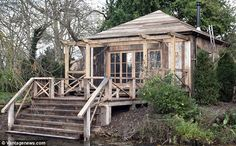 No bling here: The Clooneys have created a love nest in Berkshire with a wood burner and s...