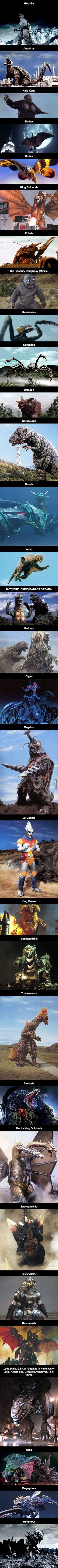 Godzilla Kaiju (Monsters)