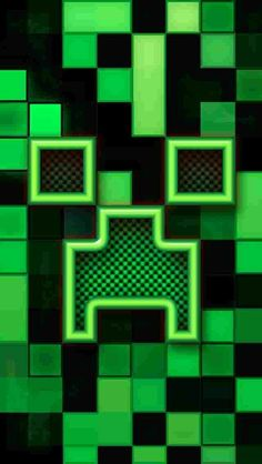 Minecraft Green Creeper Apple Phonecase Cover For Iphone SE Case