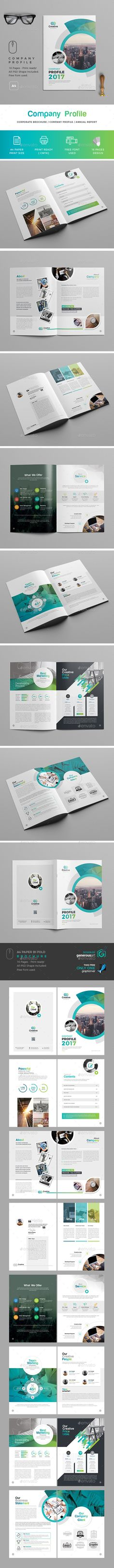 Company  Profile Template - Brochures Print Templates Download here : https://graphicriver.net/item/company-profile-template/20147331?s_rank=121&ref=Al-fatih