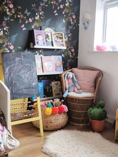 Two Years of Ada ( More Additions To Her Bedroom)