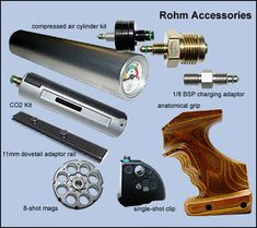 Airgun products and accessories
