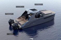 Power Catamaran, Landing Craft, Boat Design, Transport, Yachts, Ships, Outdoors, Luxury, Catamaran