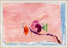 Helen Frankenthaler, Flirt, 1995, Helen Frankenthaler Foundation