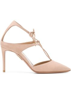 a684f7fc03d Aquazzura Manhattan Pumps - Farfetch · ManhattanAquazzuraDesigner  ShoesFootwearShoppingStuff To BuyPink PumpsWomens FashionShoes. Aquazzura  Powder Puff ...