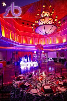 Hollywood Themed Bat Mitzvah Event Decor   Party Perfect Boca Raton, FL 1(561)994-8833