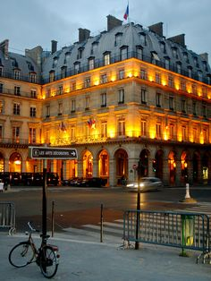 Hotel Regina, 2 place des Pyramides, Paris, France. stayed here- it was beautifulllll