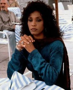 beautiful I think on the set of Waiting to Exhale