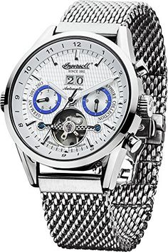 079170f6e5d Ingersoll Mens Brandenburger Gate Analog Display Automatic Self Wind Silver  Watch   Check out this great product.