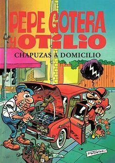 Pepe Gotera y Otilio. Chapuzas a domicilio    Dibujo: Fco. Ibáñez