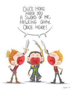 Little Harry - Loki - Coriolanus Hiddles by Hash