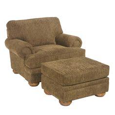 Stuffed Chairs Overstuffed Club Chair Amp Ottoman Set