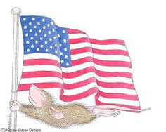"""""""Happy Flag Day - US"""" from House-Mouse Designs"""