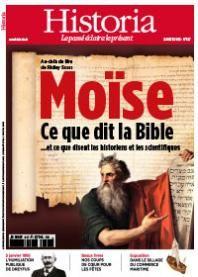Historia No 817 | Moïse : au-delà du film de Ridley Scott, ce que dit la Bible... et ce que disent les historiens et les scientifiques |