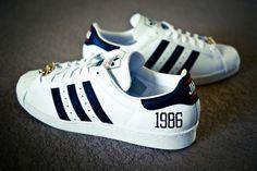Run DMC x adidas Originals My adidas 25th Anniversary Superstar 80s | KicksOnFire