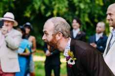 Adorable groom reaction | Anna Pumer Photography