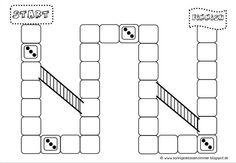 Blanko Spielfeld von Sonniges Klassenzimmer