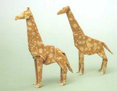 Beautiful Amazing Akira Yoshizawa's Origami Art of paper