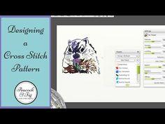 Designing a Cross Stitch Pattern - YouTube - Cross Stitch Tutorial