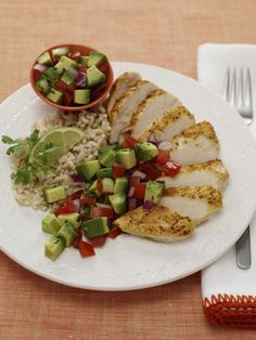 Turn up the heat with this Cumin-rubbed Chicken with Avocado Salsa ...