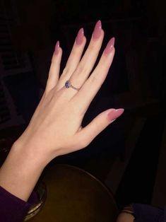 14.Almond Shape Nails - Nail Art Designs 2017 Almond Shape Nails, Almond Acrylic Nails, Cute Acrylic Nails, Matte Nails, Stiletto Nails, Acrylic Nail Designs, Fun Nails, Nail Art Designs, Nails Design