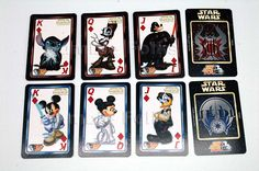 Star Wars Disney Jedi and Sith Playing Cards