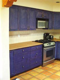 Tunear la cocina, sólo pintura: antes