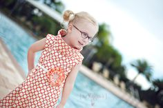 {52 Dresses} project! Photographer is capturing images of her daughter each week in a different dress and then giving away the dress! Make sure to check back each week for a new dress!