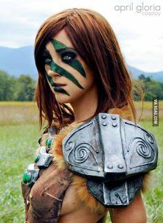 Aela the huntress from Skyrim.